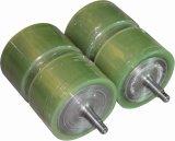 Le rouleau de polyuréthane, rouleau en caoutchouc, transportent le rouleau, rouleaux en caoutchouc de silicium, refroidissant les rouleaux en acier