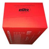 Коробка роскошного черного подарка бумаги карточки упаковывая для модели автомобиля
