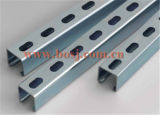 Suporte Channel Slotted Cable Tray com 41*72mm Roll Forming Production Machine Singpore
