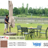 最上質の屋外の家具商業パラソルの日傘