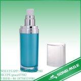 plastica cosmetica variopinta 50ml e bottiglia senz'aria di alluminio