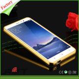 Nueva caja de parachoques de aluminio colorida delgada de lujo al por mayor del teléfono de la contraportada del capítulo + del espejo para el iPhone