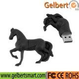 De draagbare Stok van het Embleem 8GB USB van de Douane van de Vorm van het Paard voor Bevordering
