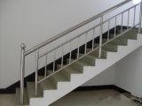 Tubo de acero inoxidable redondo para la barandilla de la escalera