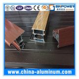 Tipo barato de perfil de aluminio para hacer puertas y Windows