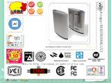 Sistema de seguridad, control remoto de control de acceso de la puerta del acero inoxidable de tarjetas IC de altura media Torniquete
