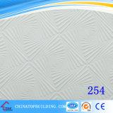 #567 Tegel van het Plafond van het Gips van het Plafond Tile/PVC van het Gips van pvc de Film Onder ogen gezien