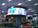 P4 호리호리한 광고 단계 실내 임대료 발광 다이오드 표시를 공장 지시하십시오