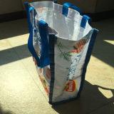 ギフトのための昇進PPのトートバック編まれた袋