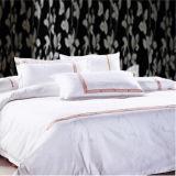 Textile de l'hôtel 100% de tissu brodé du coton/T/C 50/50/à la maison (WS-2016127)