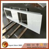 Чисто белый выкристаллизовыванный стеклянный Countertop