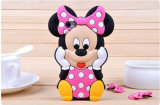 Cartoon Smile Polka DOT Minnie Silicone Phone Case para Oppo A35 A37 A59 R9s Plusmobile Case (XSD-038)