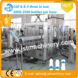 3 en 1 Pure Water Filling Line para Pet Bottles