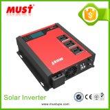 PV1100 mais o inversor solar híbrido 1000W do indicador de diodo emissor de luz do Lce da série com o carregador da C.A. picovolt