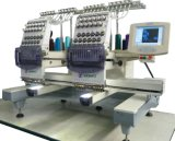 Máquina de alta velocidade do bordado de Tajima de 2 cabeças para o bordado liso dos vestuários do tampão