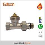 corpo de válvula termostático do radiador da válvula 3/8f reta (IDC-V22)