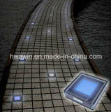 Indicatore luminoso solare del mattone del ghiaccio variopinto LED
