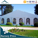 Temporäres Movable 6m/10m/12m/15m Width Span Traditional Marquee Party Wedding Tent mit Chiarivari Chairs