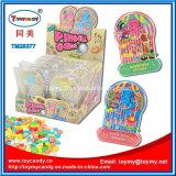 Brinquedo plástico pequeno do jogo de Pinball com doces