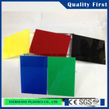Farbiges buntes Plexiglas-Blatt goß Acrylblatt