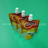 Verpackendrucken-Fastfood- Beutel-Beutel mit Tülle für Saft
