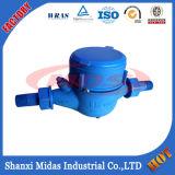 Счетчик воды пластичной Сух-Шкалы колеса лопасти Multi-Двигателя холодный (горячий) для портативной воды