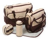 Da fralda Multifunctional da trouxa da mamã do saco da mamã da trouxa do tecido do bebê de Minipalm saco em mudança