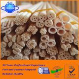 Tubo di ceramica allumina refrattaria industriale Al2O3 del tubo 99 95% dell'alta