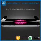 ausgeglichener Glasschicht-Bildschirm-Schoner der Volldeckung-3D für Rand Samsung-S6 Edge/S6 plus