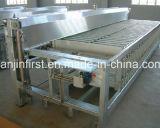 Congélateur horizontal hydraulique de congélateur de plaque de contact de poissons de crevette