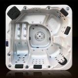 Qualité de 5 Person-A611 Hight nous baignoire acrylique de tourbillon d'interpréteur de commandes interactif