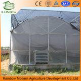 Agricultura do baixo custo estufa resistente UV do túnel da película do Po do plástico de 200 mícrons