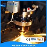 Trazador de gráficos del corte del grabado del laser de la máquina del laser de la fibra