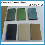 12mm Baixo-e Vidro Reflexivo dos Edifícios com CE & ISO9001