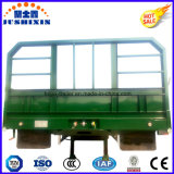 Bulk Cargo & Container Side Board / Side Wall / Fence / Sidewall Semi-reboque de 3 eixos