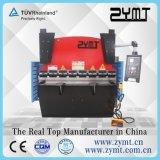 Machine en acier de frein de presse de plaque hydraulique (60T/1600mm)