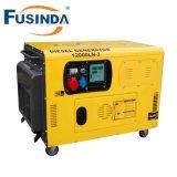 Tipo silencioso generador diesel Fdf7500q de Fusinda 5.5kw