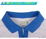 여자 섹시한 Buttonless 다른 색깔 고리 폴로 셔츠