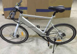 26 bicicleta de montanha elétrica 350W da bicicleta de montanha da escala longa da polegada 48V