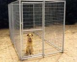 低炭素の鋼線の電流を通されたチェーン・リンク犬の犬小屋Lowes