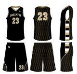 Modèle 2017 sec de logo du Jersey de basket-ball d'ajustement de nouveau produit de vêtements de sport