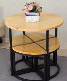 Festes Wood Metal Table und Chairs mit Highquality (M-X3012)