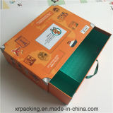 Caixa de presente de papel luxuosa do cartão para empacotar