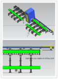 Tipo máquina do feixe U/L/I de H de estaca Process de aço