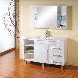 Белые лоснистые шкафы ванной комнаты MDF картины