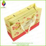 De lujo caliente de la venta de compras de papel del bolso de mano con la cinta