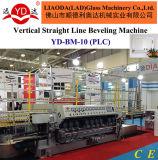 Línea recta vertical máquina que bisela del control del PLC de 10 modelos