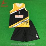 Uniforme 2016 mâle de basket-ball de pleine sublimation de Healong
