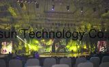 Parete dello schermo/LED della visualizzazione LED della tenda del LED/contesto flessibili della fase