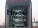 Lager-stapelnde Ladeplatten-Stahlzahnstange mit entfernbaren Pfosten
